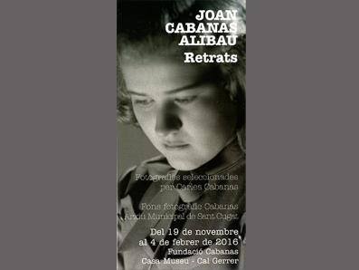 JOAN CABANAS-ALIBAU. RETRATS