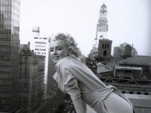 Marilyn in New York. Side by Side